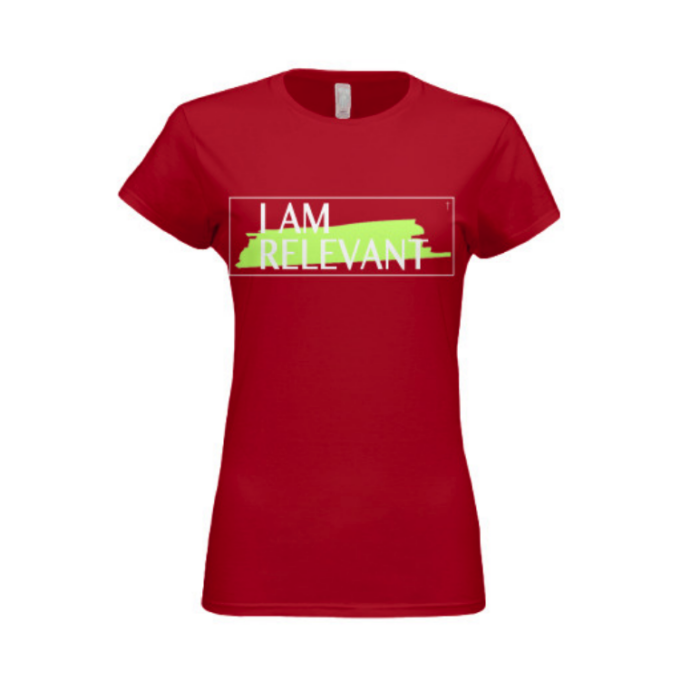 Red Women's Next Level Slim Fit Jersey