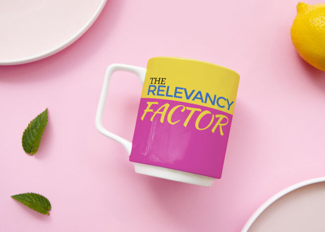 The Relevancy Factor Coffee Mug